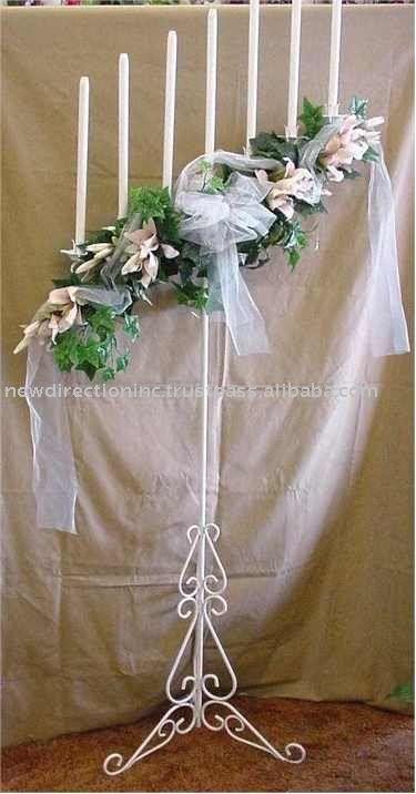Wedding Flowers On Candelabras Ideas About Candelabra