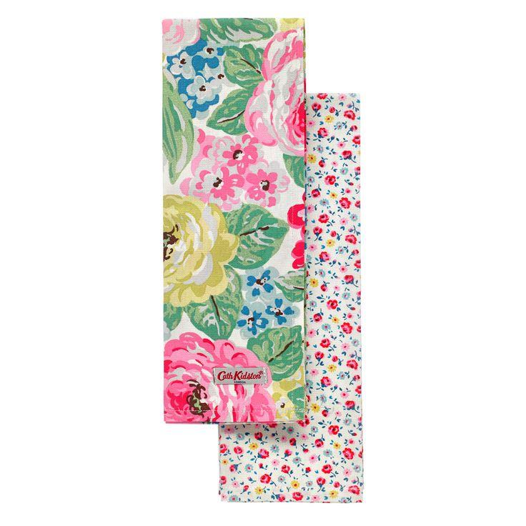 Orchard Bloom Set Of Two Tea Towels | Tea Towels | CathKidston