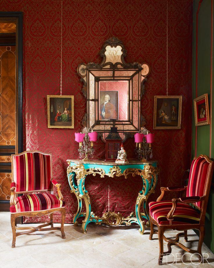 Tour Gérard Tremolet's Home - ELLE DECOR