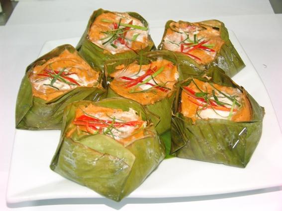 Cambodian Food: Amok Trei