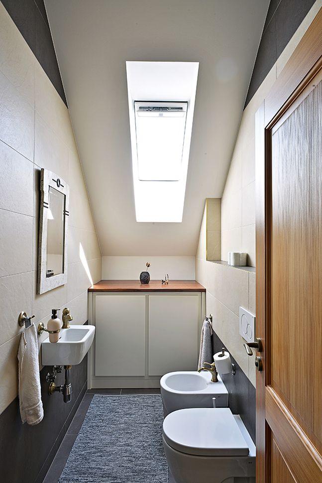 WC. Venkovský dům se stájemi / Geddes-Kaňka Interiors