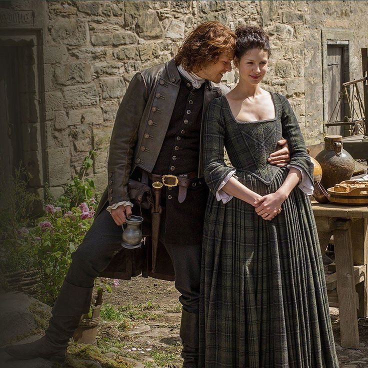 """629 Likes, 9 Comments - Claire&Jamie SamCait Outlander (@outlander__forever) on Instagram: """"Happy times at Lallybroch #outlander #outlanderseries #outlanderfans #outlanderfan…"""""""