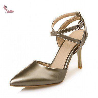 RUGAI-UE Mode d'été occasionnels Chaussures Femmes Sandales talons PU Confort Plein Air,marche,Vert US5.5 / EU36 / UK3.5 / CN35 - Chaussures rugai ue (*Partner-Link)