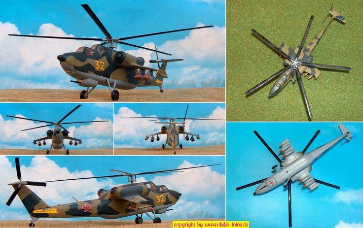"""Mil Mi-28 """"Havoc-Fake"""" (Italeri 110) 1:72"""