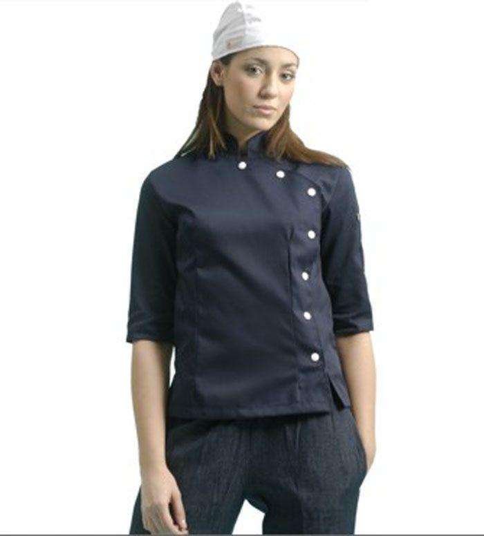 Uniforme de Chef de manga larga cocina restaurante
