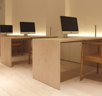 Dinesen Douglas for furniture and flooring.