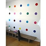 """Vinilos Adhesivos Lunares de Colores """"Sweet 16"""": Kids Playrooms, Wall Decals, Polka Dots Wall, Wall Stickers, Shower Curtains, Polkadots, The Dots, Girls Rooms, Kids Rooms"""