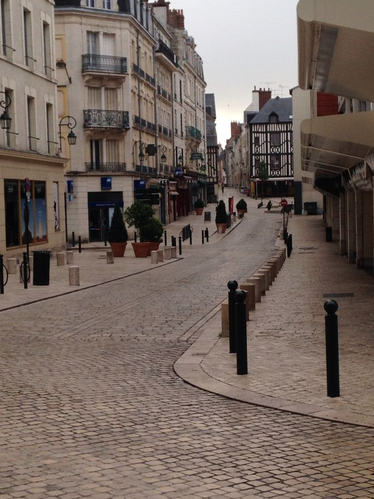 Old Town of Orleans, France. Beautiful cityscape.