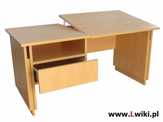 Biurko regulowane 9 pozycji wysokości i 6 ustawień kąta nachylenia blatu. Dla dzieci w każdym wieku. Więcej na www.Lwiki.com.pl