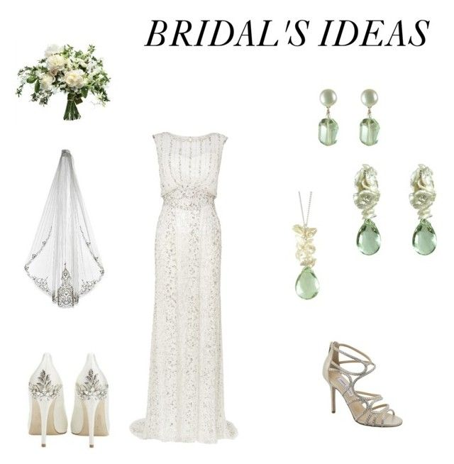 Bridal's ideas by mounirjewellery on Polyvore featuring moda, Phase Eight and Guide London
