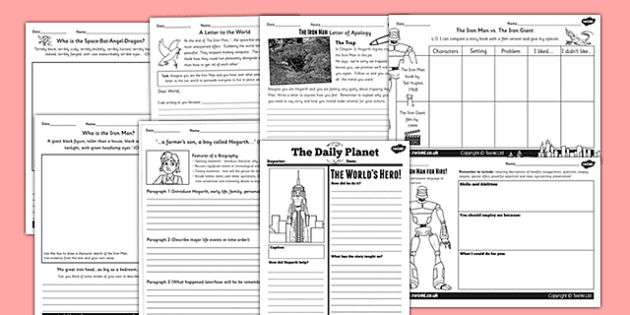 The Iron Man - Ted Hughes Primary Resources - KS2 Story