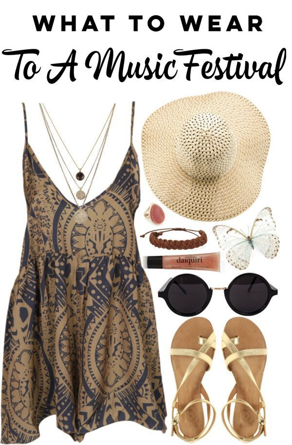 What to wear to a music festival - cute outfit ideas and tips