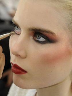 80s makeup?..Robert Palmer girls