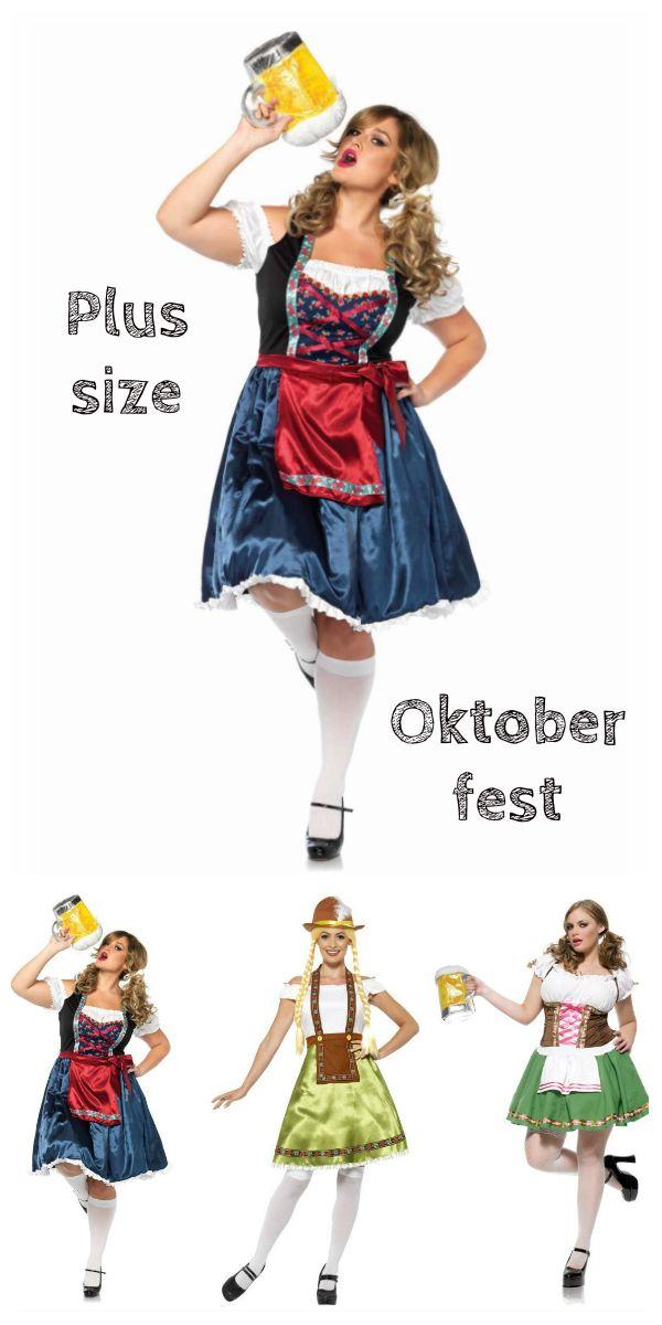 a6bc22eecb0 Plus size kostumer | Plus Size kostumer | Fest kjole, Oktoberfest og ...