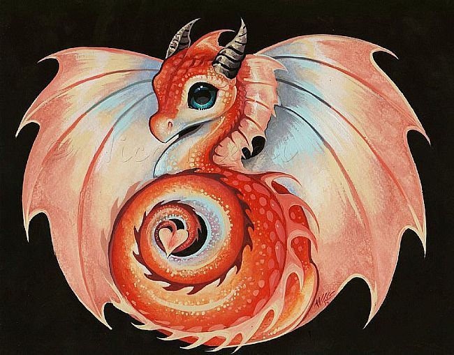 176 best cute dragons images on pinterest smileys for Baby dragon tattoos