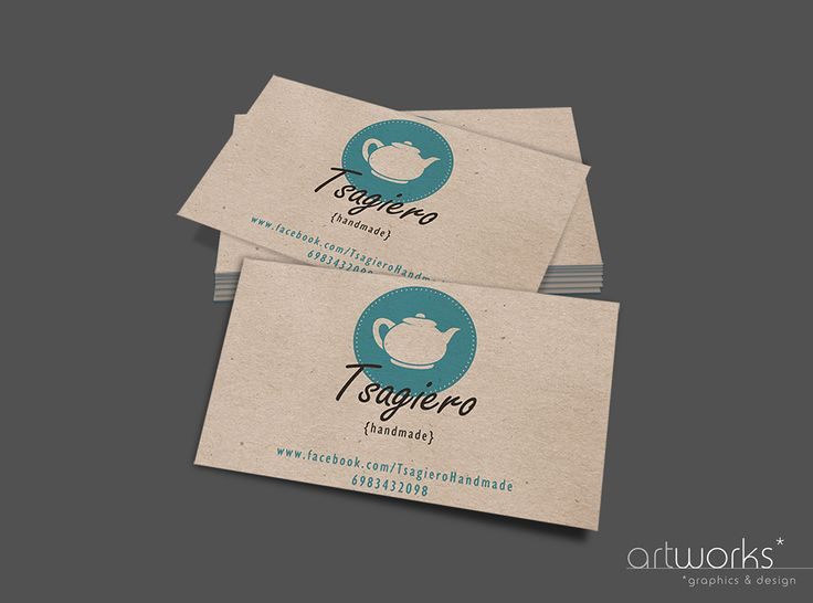 """Tsagiero Handmade"" Business Card on Behance"