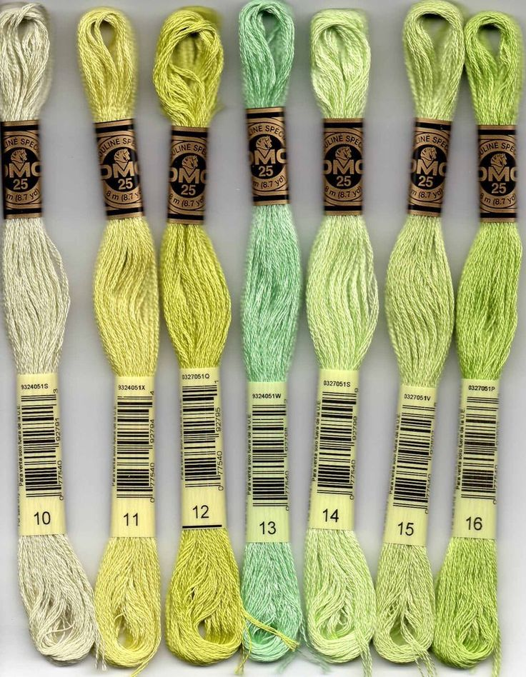DMC six-stranded embroidery floss 10, 11, 12, 13, 14, 15, 16 NEW Colors 2018 for sale