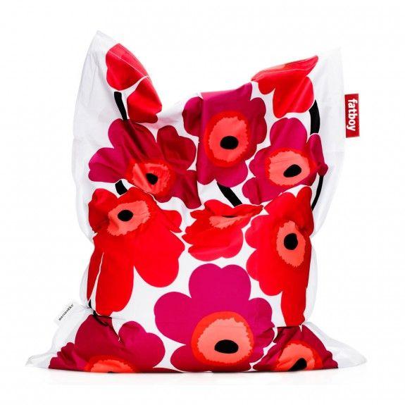 Fatboy Marimekko pillow chair #floral #pattern