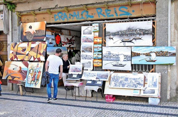 Arte em Santa Catarina Porto_
