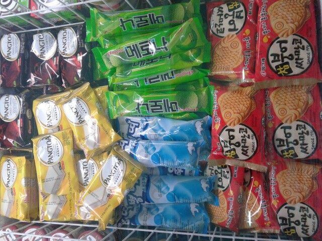 Korean ice cream in nearby mart. It's so expensive :(
