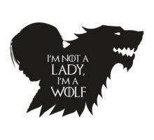 No soy una dama...soy un lobo.