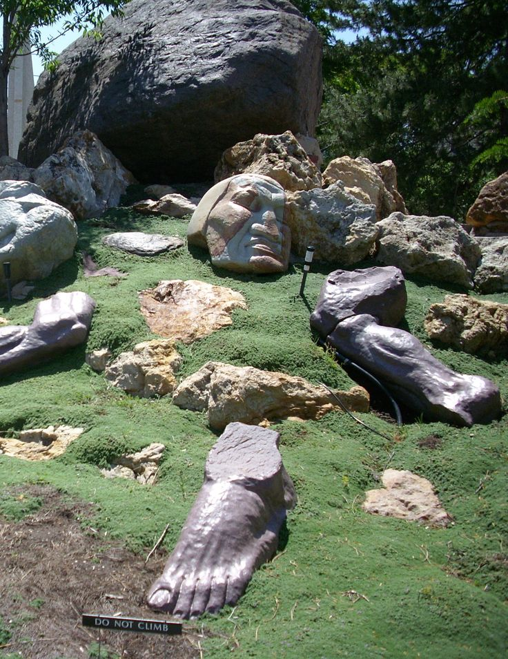 Gilgal Sculpture Garden in Salt Lake City, Utah.