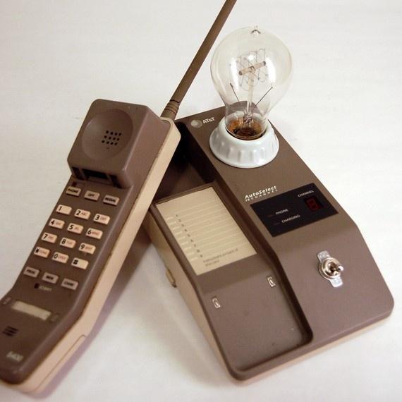 1980 S At T Phone Lamp