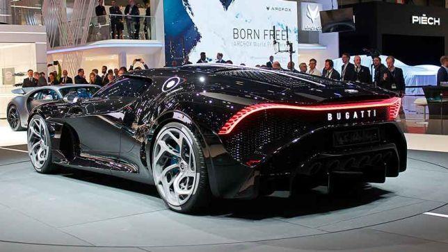 bugatti la voiture noire käufer