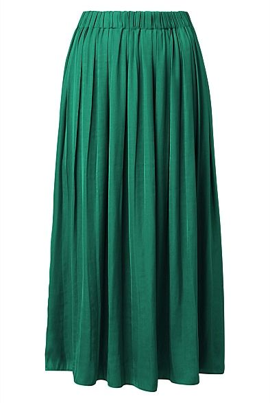 7d37567c3 Soft Pleat Skirt in 2019 | My style