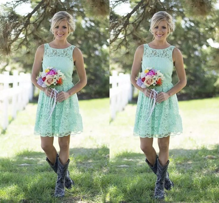 2016 Country Style Mint Green Bridesmaid Dresses Short Lace Formal Dress For Junior And Adult Bridesmaid Knee Length Wedding Party Dresses Turquoise Bridesmaid Dresses Vintage Bridesmaid Dresses From Hot_sales_dress, $70.86| Dhgate.Com