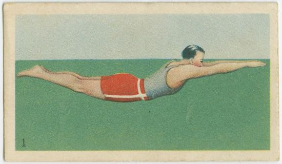 Vintage cigarette cards from New York Public Library collection
