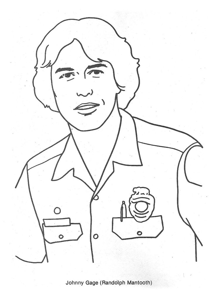 Emergency Tv Show Coloring Pages