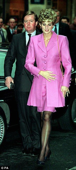 Bodyguard Ken Wharfe (left) was photographed next to Princess Diana when she was in Paris in 1992