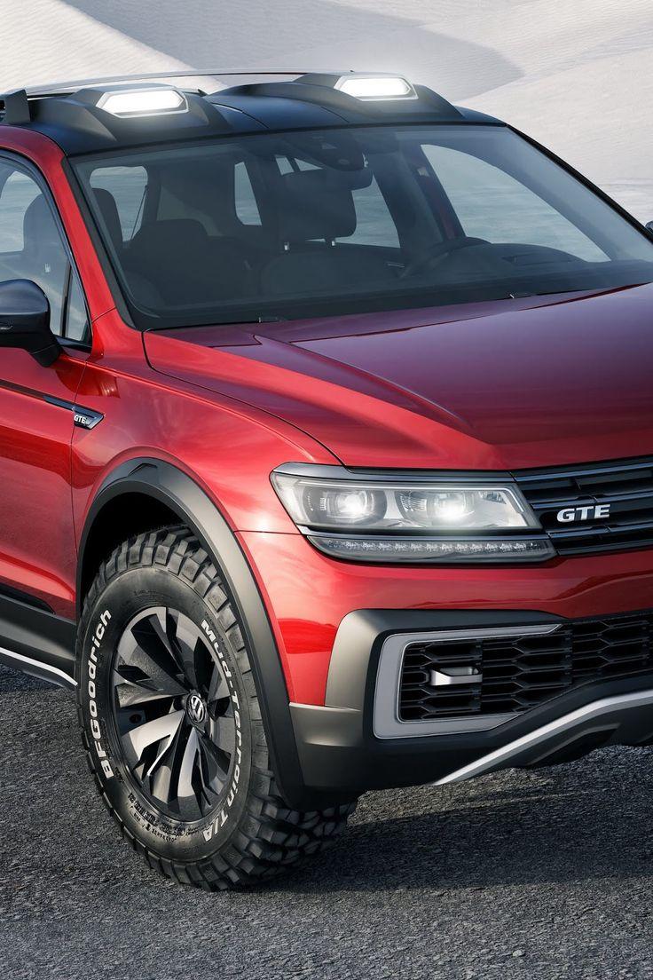 Detroit 2016 volkswagen unveil plugin tiguan gte active concept