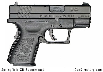 springfield xd subcompact -  My new gun; for Christmas!  I love it!