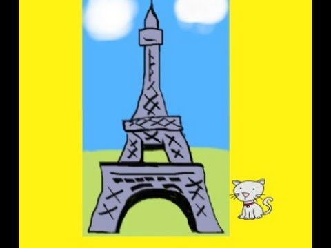 Children's French Eiffel Tower Song - YouTube