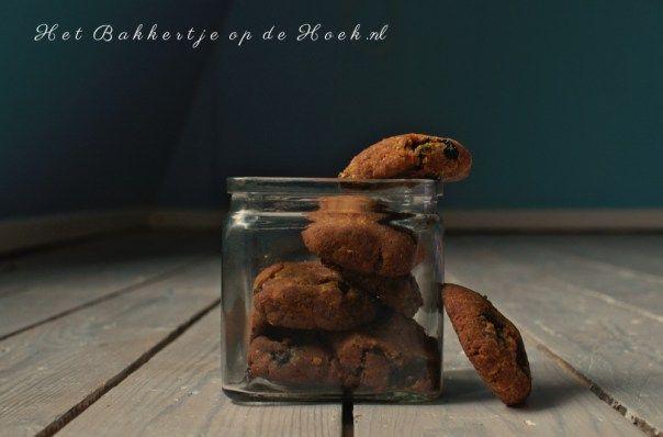 Blueberry koekjes. Gluten- en lacosevrij!
