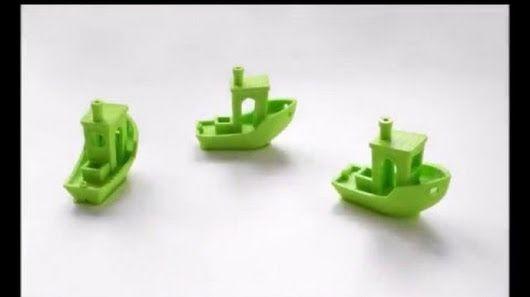 Test, jak drukować szybko i ładnie: https://www.youtube.com/watch?v=AE--0jf29jg #Druk3D #3Dprinting #Urbicum