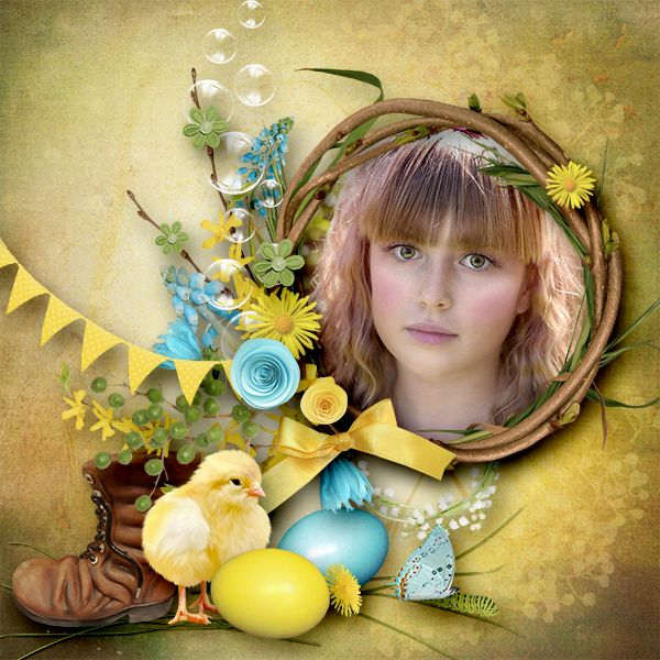 *Easter in my garden elements * Designs by Brigit  http://www.gottapixel.net/store/product.php… Photo: Pixabay