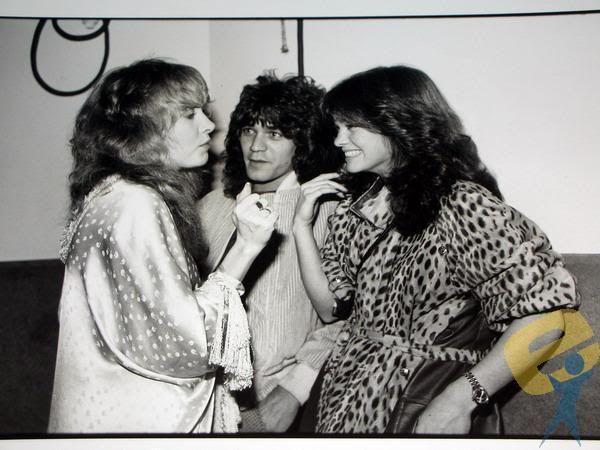 Stevie Nicks, Eddie Van Halen, And Valerie Bertinelli Pictures ...