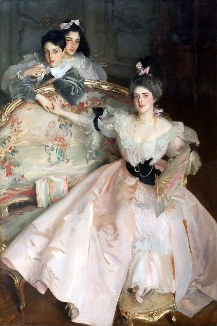 masterpiecedaily:  John Singer Sargent Mrs Carl Meyer and Her Children 1896