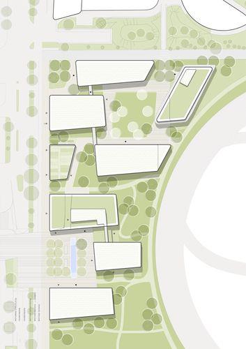 Simulátor architekti - Krieau. Viertel ZWEI Plus