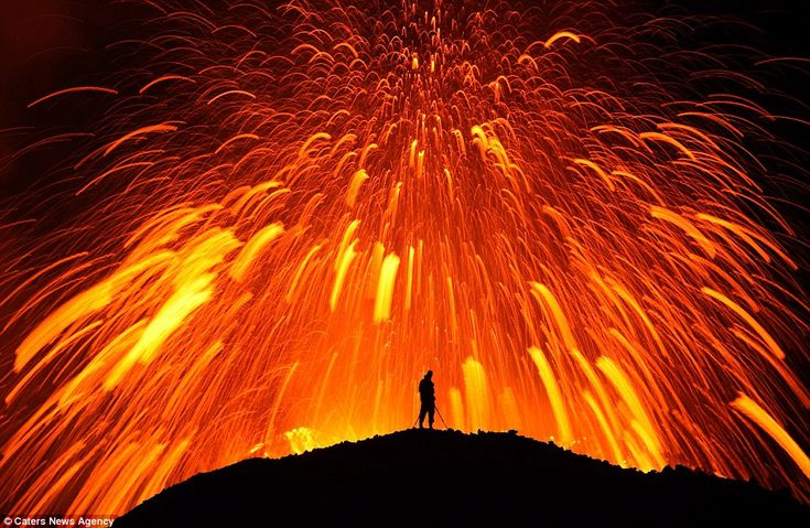 Wordless Wednesday-Volcanoes Each photo is linked to it's original owner.