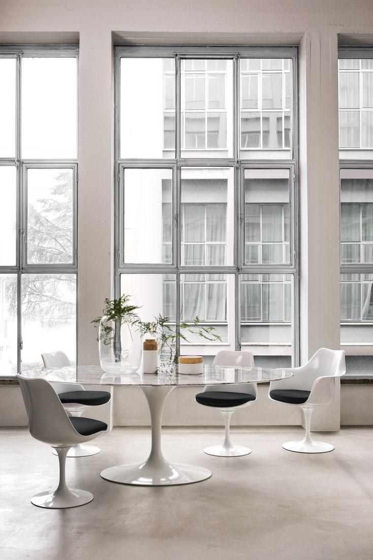 Drehstuhl esstisch  Die besten 20+ Knoll table Ideen auf Pinterest | Moderne couch ...