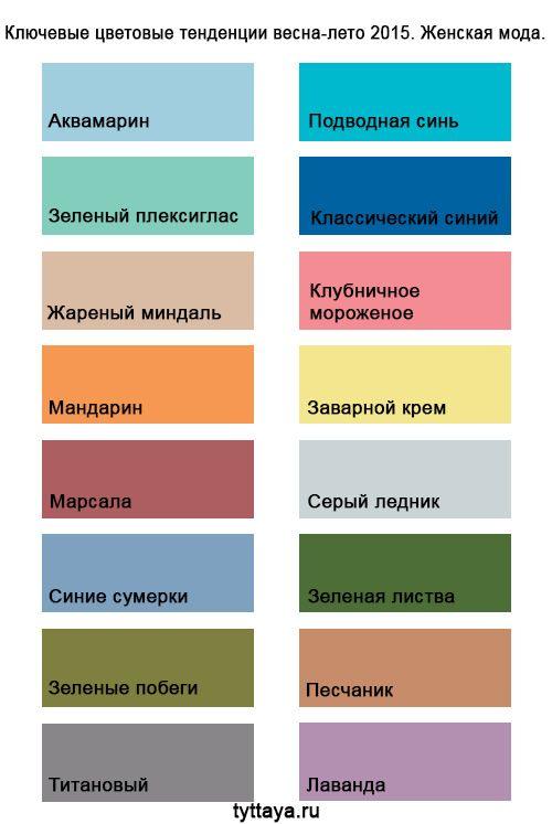 модные цвета в одежде 2017 года: 25 тыс изображений найдено в Яндекс.Картинках