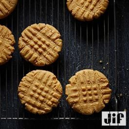 Peanut Powder Cookies  made with our new Jif® Peanut Powder make baking a breeze!