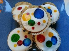 spotty dotty cupcakes for Children in Need 2012 #charity