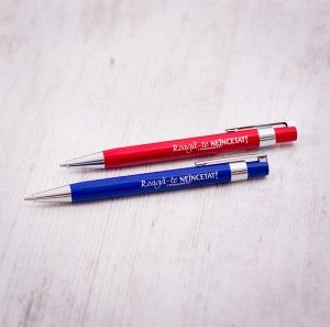 Pencil with message