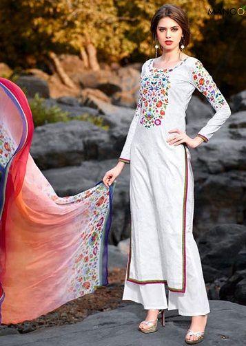 f9c57664e3 15 Magnificent White Salwar Kameez Designs That Look Like A Diva ...