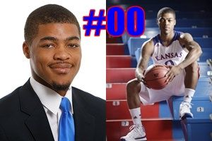 KU Player Quiz! Who is #00 for the Kansas Jayhawks 2013 basketball team?